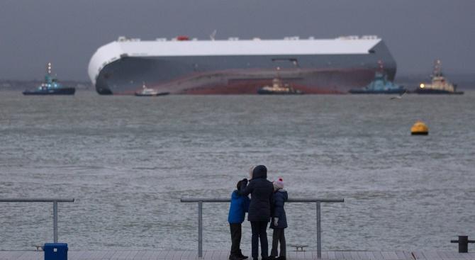 Кораб с над 14 000 овце се преобърна в Черно море