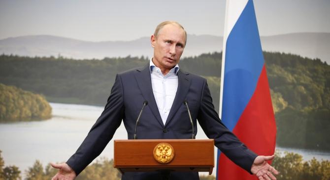 Путин разговаря по телефона с украинския си колега Володимир Зеленски