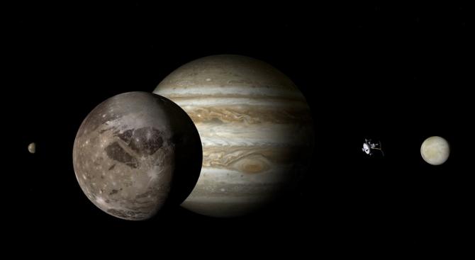 Размерите на Голямото червено петно на Юпитер са постоянни