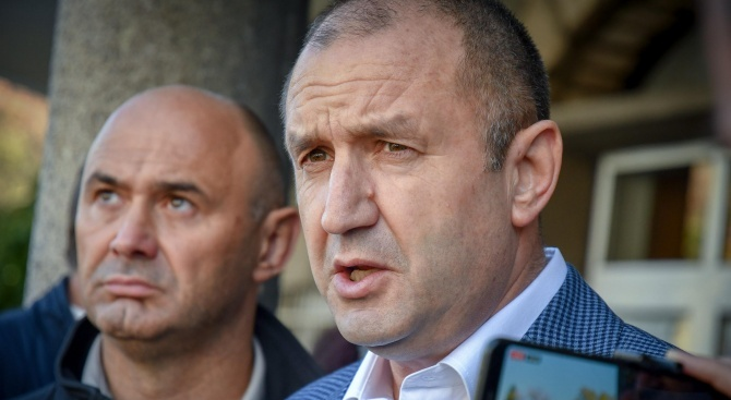 Румен Радев изрази съболезнования на Илир Мета по повод жертвите на земетресението в Албания
