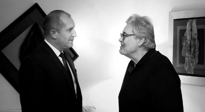 Стефан Данаилов оглави Инициативния ми комитет, припомни натъжен Радев