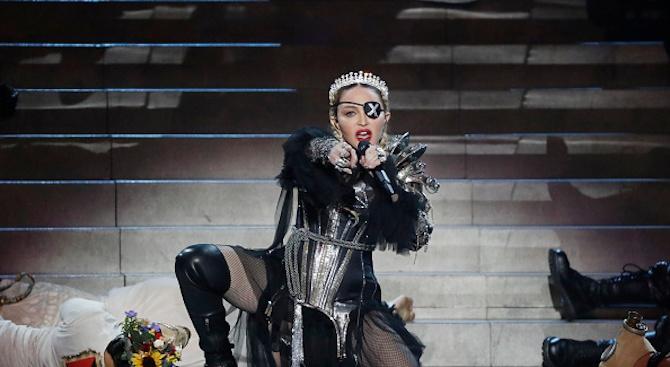 Мадона: Смазана съм от болка
