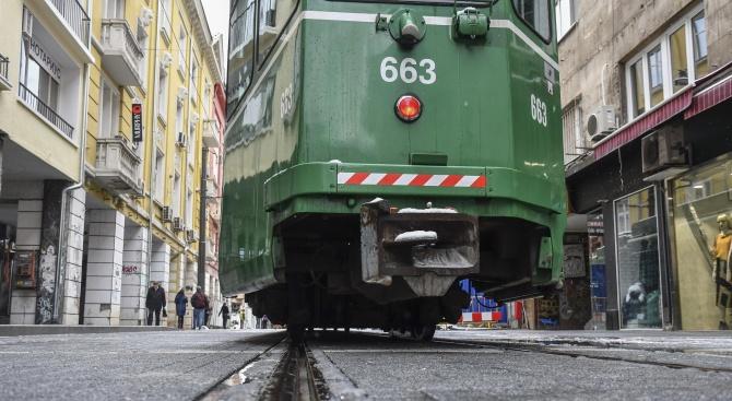 НСИ: 20% повече пътници в трамваите