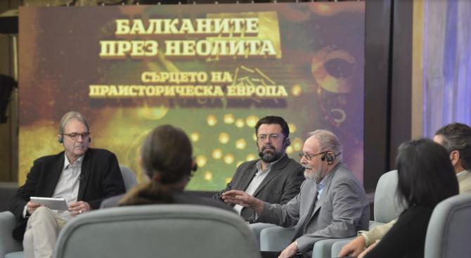"""В НДК се проведе кръгла маса на тема """"Балканите през неолита – сърцето на  праисторическа Европа"""""""