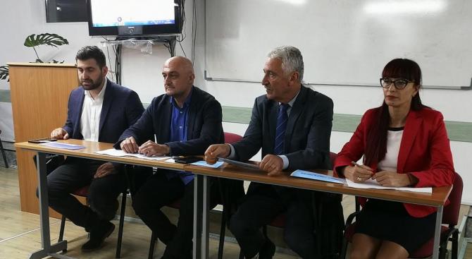 Новото областно ръководство на ГЕРБ-Благоевград бе представено пред актива на партията