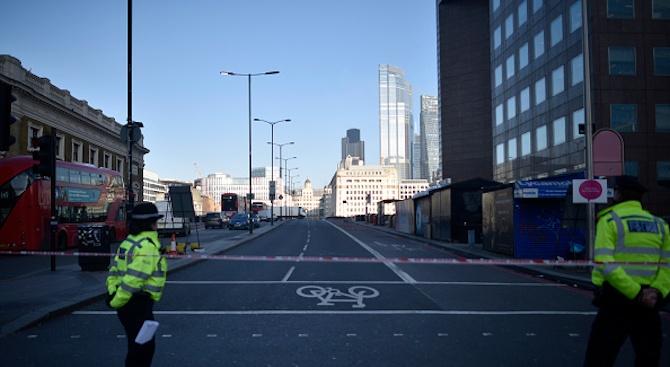 Вижте обезвреждането на терориста, убил двама в Лондон