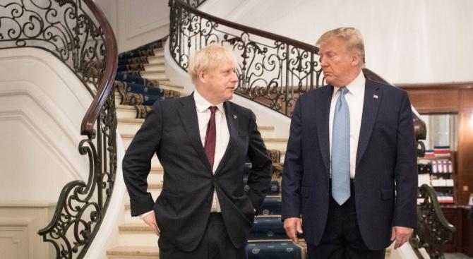 Борис Джонсън към Тръмп: Не се намесвай!