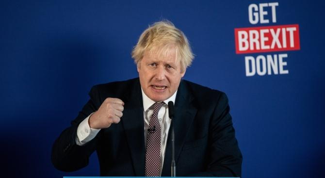 Борис Джонсън: Ако спечелим изборите, Великобритания скоро ще спре да говори за Брекзит