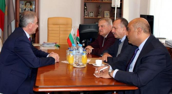 Почетният консул на Кралство Йордания посети Плевен по инициатива на Румен Петков
