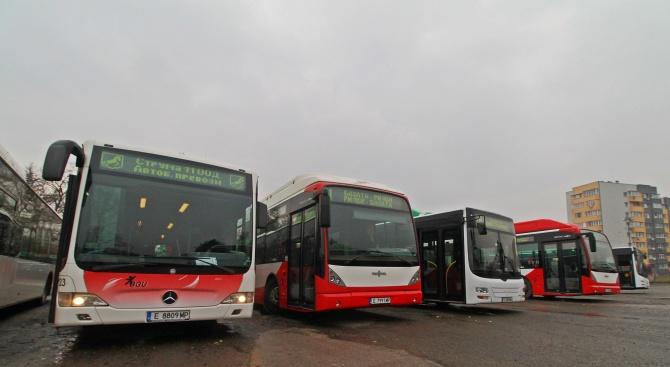 Благоевград се сдоби в нова система на градския транспорт