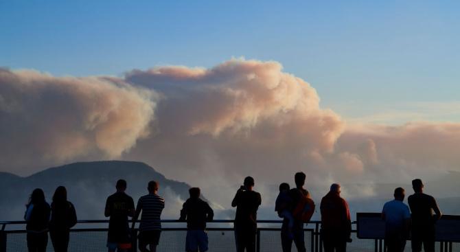 Токсичен облак дим достигна австралийската столица Канбера