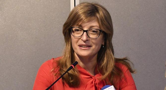 """Екатерина Захариева ще участва в Съвета """"Външни работи"""" в Брюксел"""