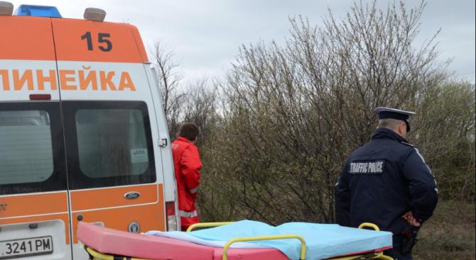 Катастрофа между селата Козлец и Конуш с ранено бебе