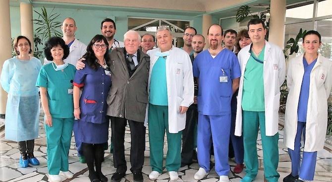 Изписаха пациента с първата белодробна трансплантация, извършена в България
