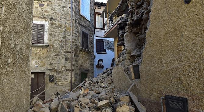 Няма информация за пострадали при земетресението в Тоскана