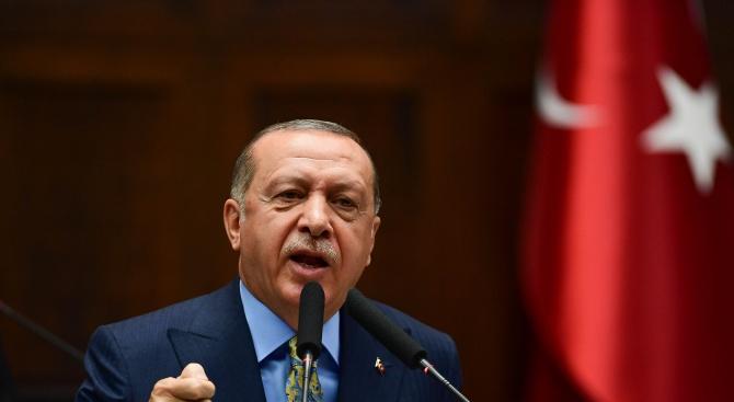 Ердоган: Турция има за цел да засели 1 млн. сирийски бежанци в Северна Сирия
