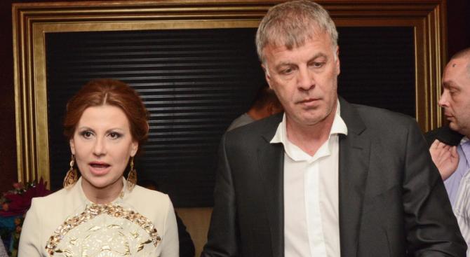 Илиана Раева и Наско Сираков празнуват 36 години брак