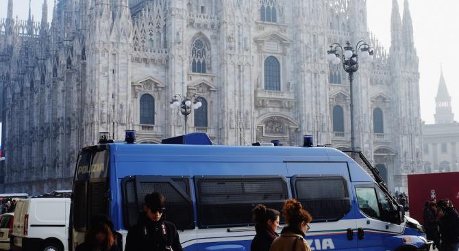 Български обирджийки обраха за 20 секунди студентка в Милано