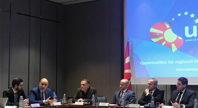 Цветан Цветанов участва в кръгла маса в Скопие