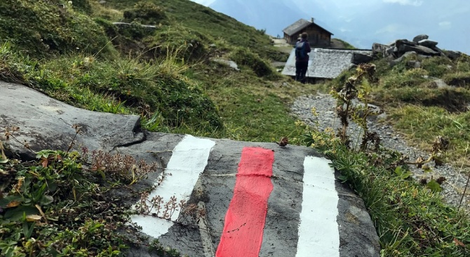 Маркирана е опасна пътека до връх Стража