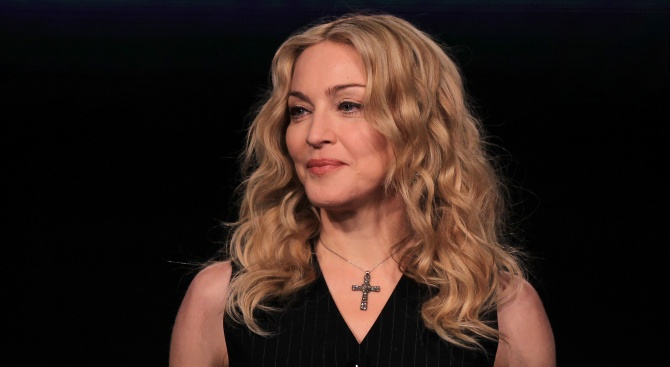 Мадона с ново младо гадже