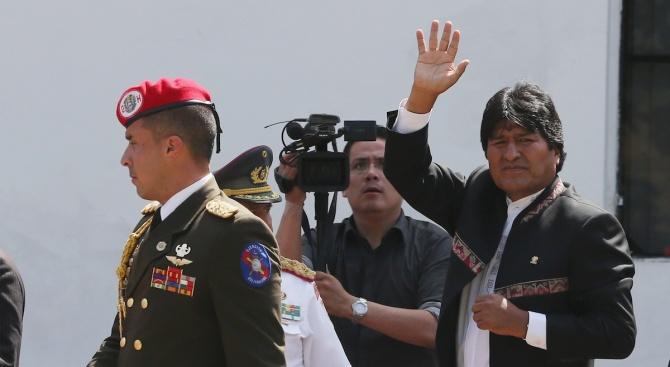 Ево Моралес пристигна в Аржентина