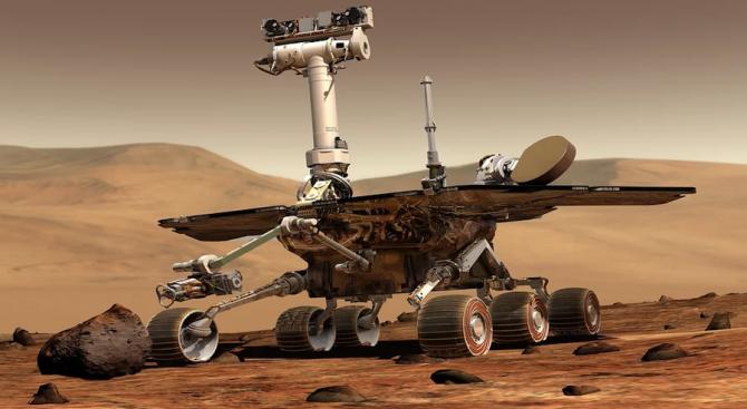 Астрономи разкриха как изчезва вода на Марс