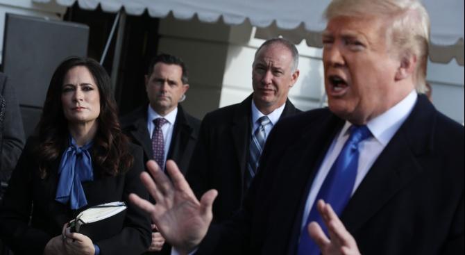 Белият дом нарече гласуването за импийчмънт срещу Тръмп неконституционна пародия