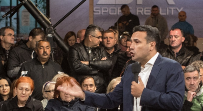 Зоран Заев към опозицията: Ако се върнете на власт, ще имаме проблеми със съседите