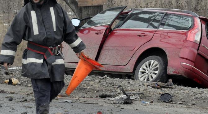 На Коледа: 28-годишен загина при катастрофа в Добричко