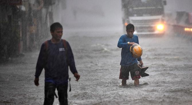 Жертвите на тайфуна Фанфон на Филипините станаха 41