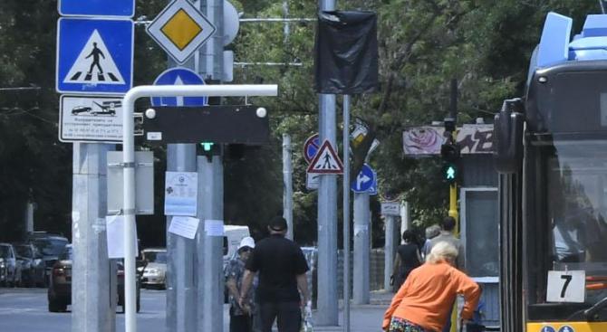 В София временно се измества автобусна спирка по линия 107