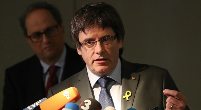 Белгийски съд прекрати делото за екстрадиция на Карлес Пучдемон в Испания