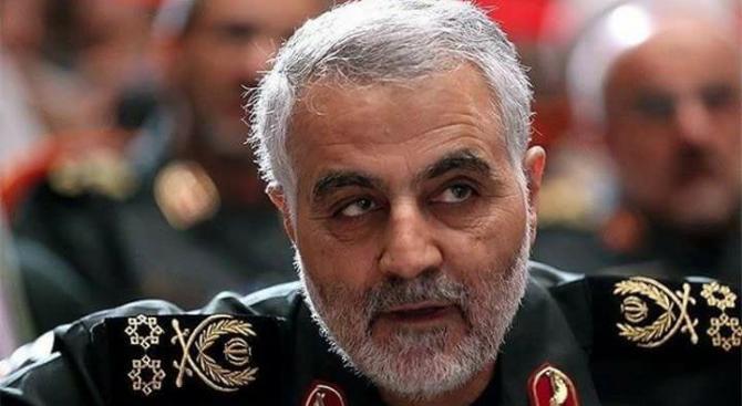 Командващият иранските Бригади Ал Кудс генерал Касем Солеймани е убит при ракетен удар