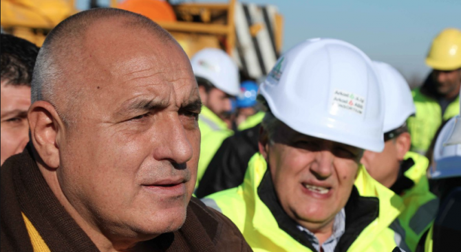 """Борисов: Няма по-важна магистрала от """"Хемус"""""""