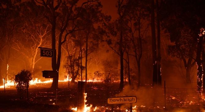 Австралийският премиер призова да не се търси вина за пожарите в Австралия