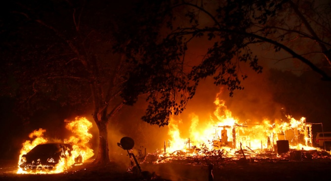 Четирима загинали при пожар в хоспис в Полша