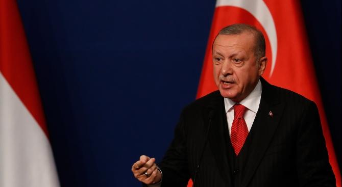Ердоган: Турското разузнаване МИТ изпълнява подобаващо ангажиментите си в Либия
