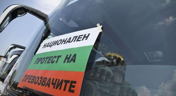 Превозвачи стягат протести срещу ТОЛ системата