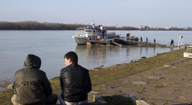 Нивото на Дунав се е понижило край Ново село