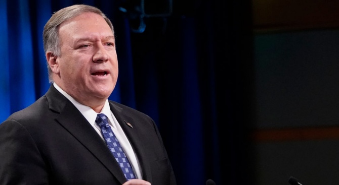 Майк Помпейо обсъди иранските ракетни удари в Ирак с премиера на Иракски Кюрдистан