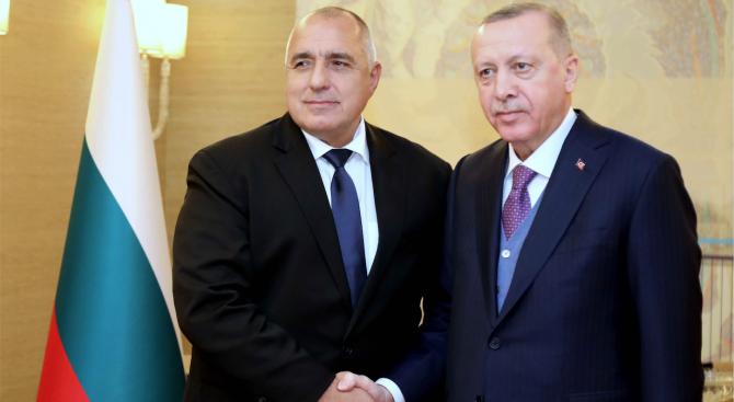 Борисов пред Ердоган: Само мирът може да реши проблемите в Близкия Изток