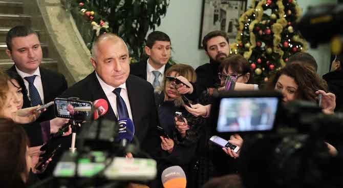 Бойко Борисов: Успокоих колегите, че още не сме получили американските изтребители F-16