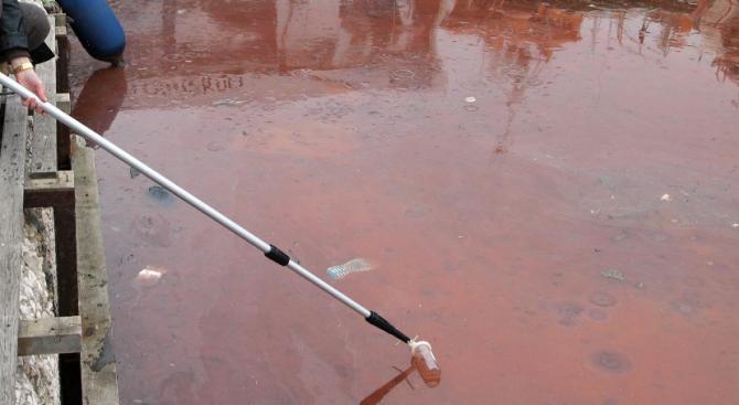 Солена глоба за замърсяването на водите на р. Луда Яна
