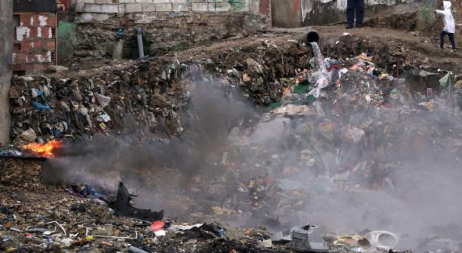 Наложиха глоби за нерегламентирано горене на отпадъци в София
