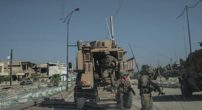 Американските военни в Ирак се укрили два часа преди иранските ракетни удари