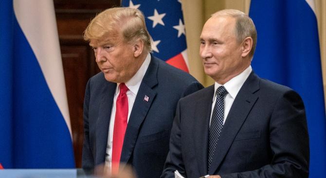 Путин посъветвал президента на Сирия да покани Тръмп в Дамаск