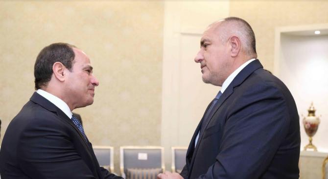 Ас-Сиси към Борисов: Ще се видим в България