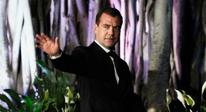 Дмитрий Медведев хвърли оставка