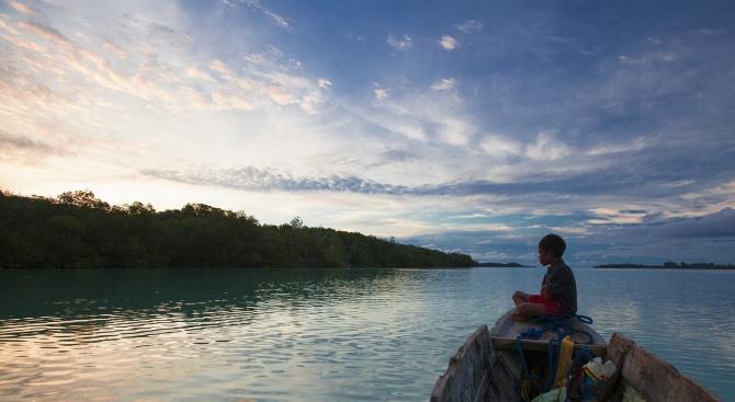 Два от островите на Индонезия изчезнаха